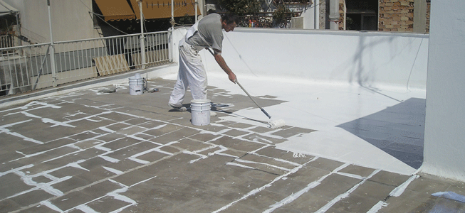 Roof top waterproofing membrane